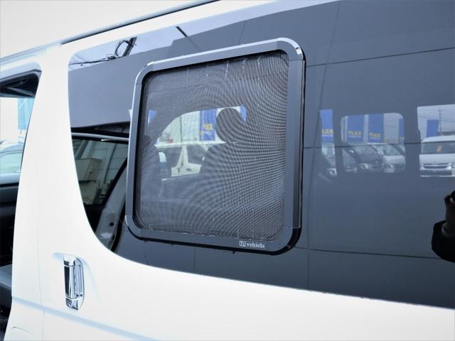 GL 重歩行フロア施工 高さ調整式ベッドキット EX16インチAW オープンカントリータイヤ 網戸 防虫ネット カロッツェリアSDナビ フルセグTV(26枚目)