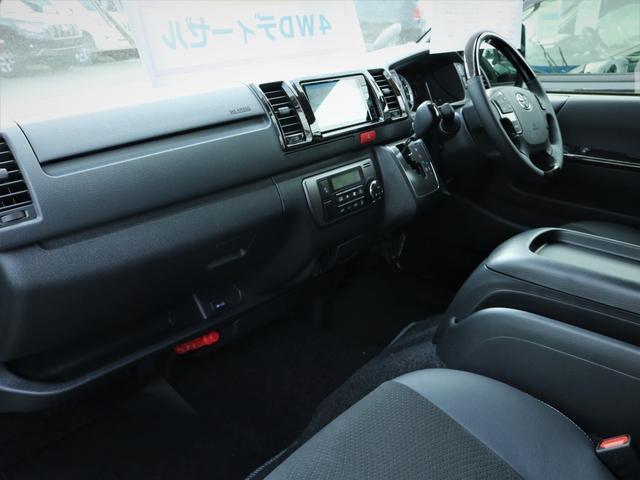スーパーGL ダークプライムII 重歩行フロア施工 カロッツェリアSDナビ フルセグTV ビルトインETC デルフ17AW ナスカータイヤ PVM(17枚目)