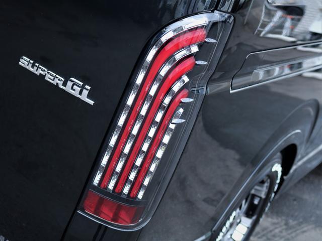 スーパーGL ダークプライムII 重歩行フロア施工 カロッツェリアSDナビ フルセグTV ビルトインETC デルフ17AW ナスカータイヤ PVM(18枚目)