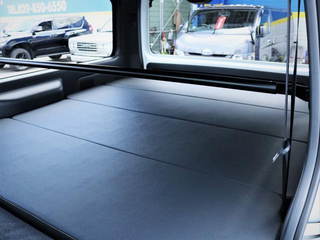 スーパーGL ダークプライムII バッドラッカー18AW ローダウン デルフィーノラインフロントスポイラー LEDテール 高さ調整式ベッドキット カロッツェリアSDナビ フルセグTV ビルトインETC(13枚目)