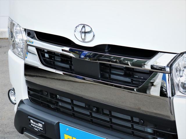 スーパーGL ダークプライムII マッドバンス16AW オープンカントリータイヤ TRDフロントエアロ カロッツェリアSDナビ フルセグTV ビルトインETC 高さ調整式ベッドキット デジタルインナーミラー(22枚目)