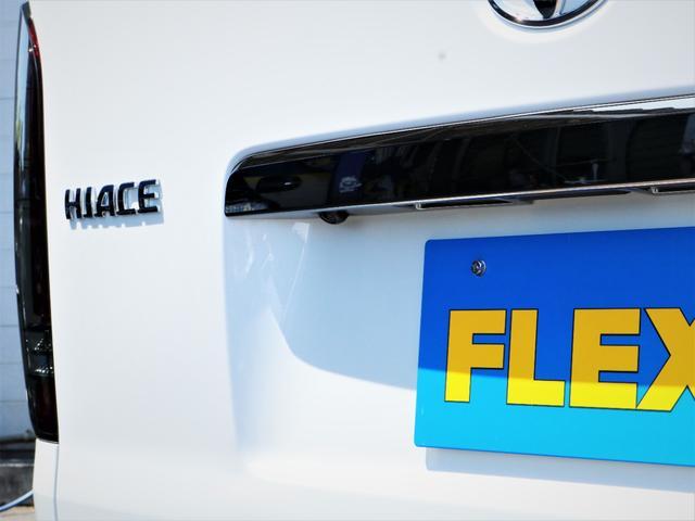 スーパーGL ダークプライムII レイズ18AW トーヨータイヤ FLEXオリジナルデルフィーノラインフロントエアロ フローリング施行 高さ調整式ベッドキット カロッツェリアSDナビ フルセグTV ビルトインETC(23枚目)