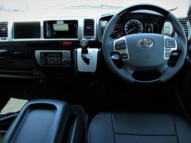 GL 内装アレンジVER2 シート変更 フローリング テーブル シートカバー SDナビ フルセグTV 後席モニター ビルトインETC デルフ17AW ナスカータイヤ LEDテール(3枚目)