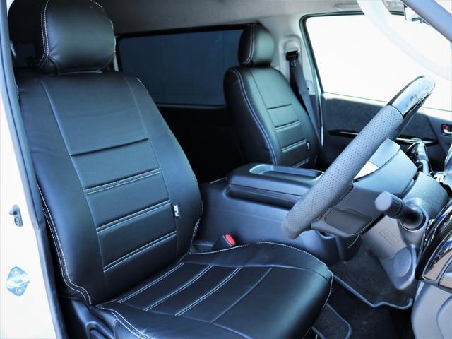 GL 内装アレンジVER2 シート変更 フローリング テーブル シートカバー SDナビ フルセグTV 後席モニター ビルトインETC デルフ17AW ナスカータイヤ LEDテール(10枚目)