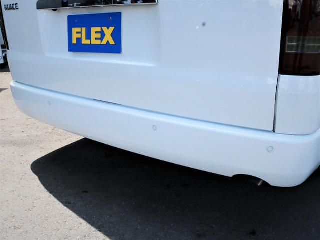 GL 内装アレンジVER2 シート変更 フローリング テーブル シートカバー SDナビ フルセグTV 後席モニター ビルトインETC デルフ17AW ナスカータイヤ LEDテール(26枚目)