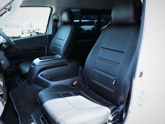 GL 内装アレンジVER2 シート変更 フローリング テーブル シートカバー SDナビ フルセグTV 後席モニター ビルトインETC デルフ17AW ナスカータイヤ LEDテール(30枚目)