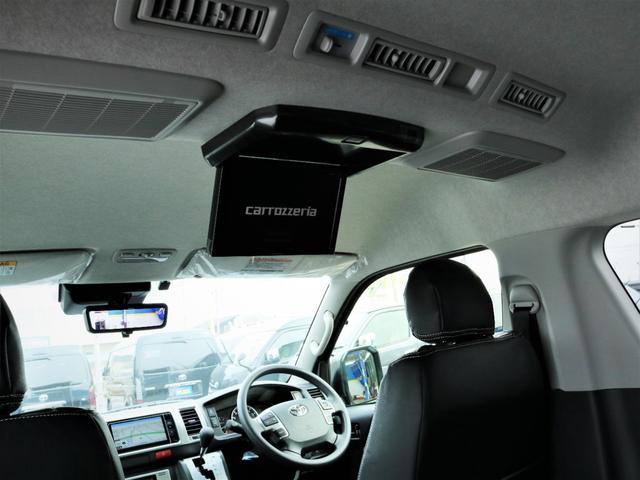 GL デルフ17AW ローダウン LEDテールランプ カロッツェリアSDナビ フルセグTV ビルトインETC Bカメラ PVM パワスラ フローリング ベッド テーブル(15枚目)