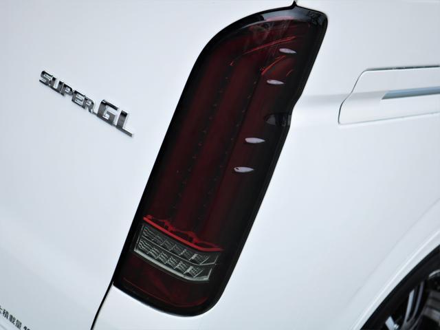 スーパーGL ダークプライムII デルフ17AW ナスカータイヤ ローダウン FLEXデルフィーノラインフロントエアロ オーバーフェンダー パナソニック製SDナビ フルセグTV ビルトインETC 高さ調整式ベッドキット(18枚目)