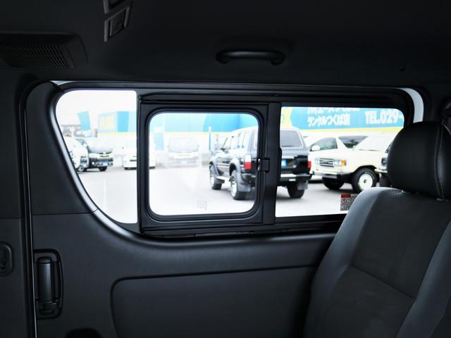 スーパーGL ダークプライムII デルフ17AW ナスカータイヤ ローダウン FLEXデルフィーノラインフロントエアロ オーバーフェンダー パナソニック製SDナビ フルセグTV ビルトインETC 高さ調整式ベッドキット(32枚目)