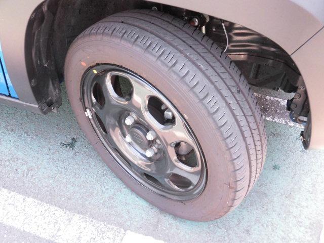 タイヤ溝もまだタップリ!