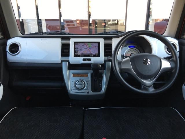 G メモリーナビ ワンセグ Bluetooth CD・DVD スマートキー オートエアコン アイドリングストップ 衝突軽減ブレーキ シートヒーター ヘッドライトレベライザ 電格ミラー ベンチシート ETC(2枚目)