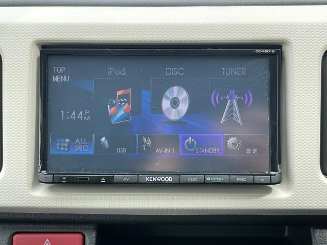 X 社外液晶付きオーディオ DVD シートヒーター スマートキー プッシュスタート アイドリングストップ フォグライト 衝突軽減ブレーキ ウィンカーミラー(4枚目)