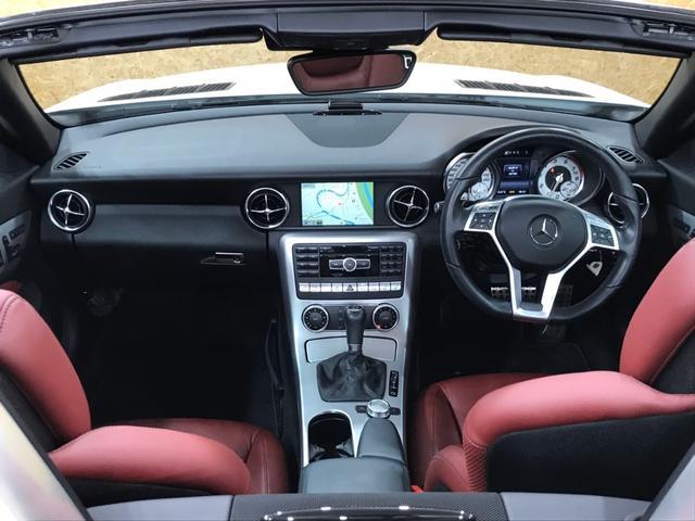 SLK200レーダーセーフティEDT 赤革 100台限定車(3枚目)