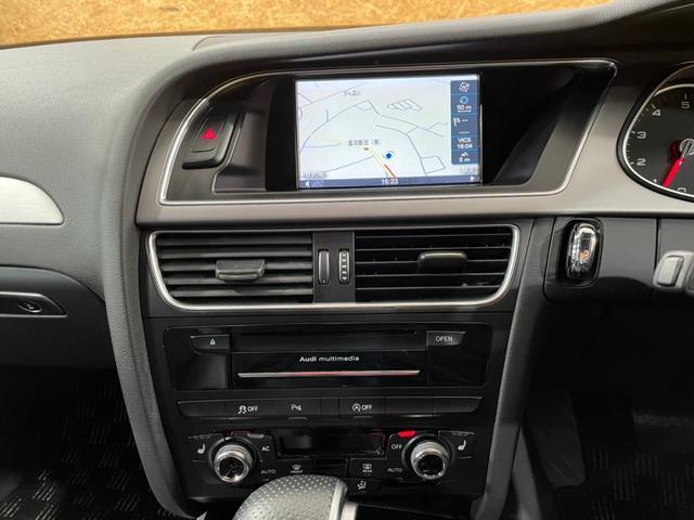 2.0TFSIクワトロ Sライン ハーフレザー クルコン ドラレコ 4WD 18インチAW パドルシフト ステアリングスイッチ シートヒーター ナビ バックカメラ パワーシート DVD再生 Bluetoothオーディオ接続(15枚目)
