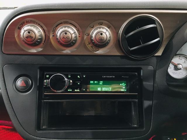 タイプR 6MT TEIN車高調 ローダウン カロッツェリアオーディオ 純正17AW ETC レカロシート Bluetooth接続 HIDライト 整備記録簿有(15枚目)