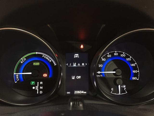 ハイブリッドGパッケージ ワンオーナー 21000キロ 社外19インチホイール ローダウン 社外マフラーブレンボブレーキ ブリックレーン Bluetooth シートヒーター 電動格納ミラー ハンズフリー  クルーズコントロール(12枚目)