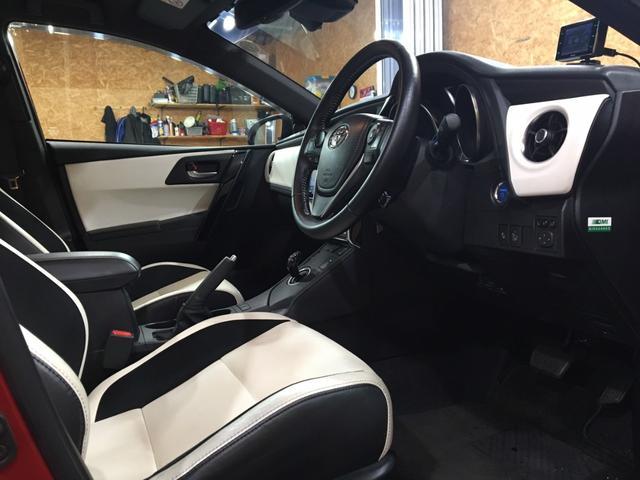 ハイブリッドGパッケージ ワンオーナー 21000キロ 社外19インチホイール ローダウン 社外マフラーブレンボブレーキ ブリックレーン Bluetooth シートヒーター 電動格納ミラー ハンズフリー  クルーズコントロール(24枚目)