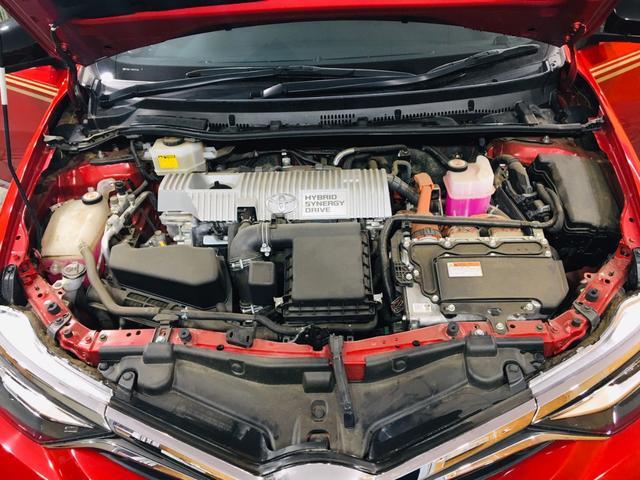 ハイブリッドGパッケージ ワンオーナー 21000キロ 社外19インチホイール ローダウン 社外マフラーブレンボブレーキ ブリックレーン Bluetooth シートヒーター 電動格納ミラー ハンズフリー  クルーズコントロール(36枚目)