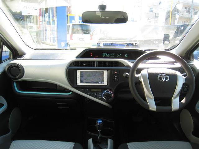 トヨタ アクア S ナビ CD TV ETC オートエアコン