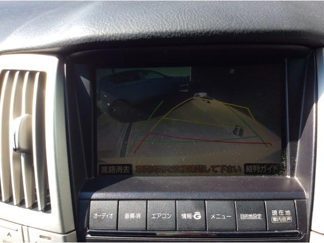 トヨタ ハリアー 240G ナビ ETC バックカメラ 22インチAW 車高調