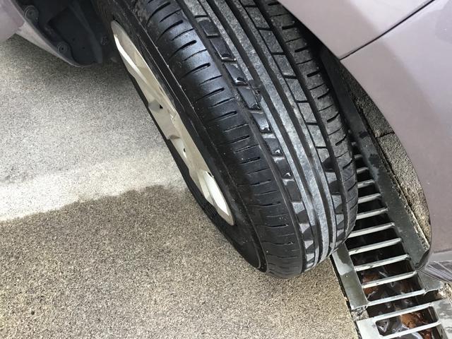 タイヤ溝ばっちりです。