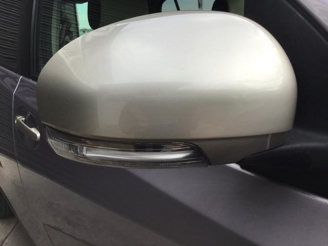 ウインカーミラーです。周りからも視認しやすく安全面にも配慮されています。