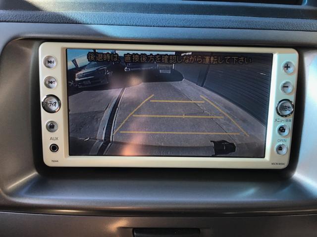 バックカメラも付いているのでバックでの駐車も安心ですね!