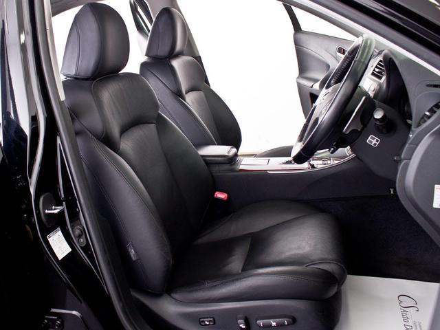 レクサス IS 250 バージョンL スピンドルLOOK 新品20AW 黒革