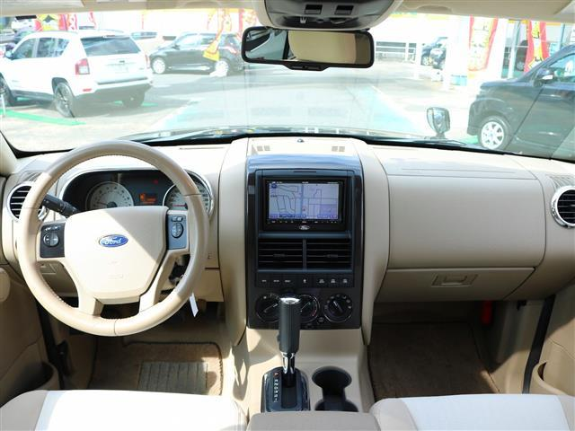 フォード フォード エクスプローラー XLT 4WD サンルーフ HDDナビ フルセグTV ETC