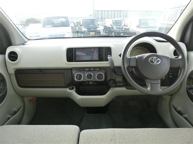 トヨタ パッソ X ユルリ 純HDDナビ地デジ ETCスマートキー