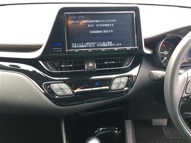 トヨタ C-HR G 純正メモリナビ フルセグ ハーフレザー 車線逸脱警報