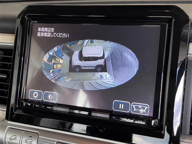 ハイブリッドMZ 衝突軽減ブレーキ レーンキープアシスト 全方位カメラ ドライブレコーダーヒルディセントコントロール グリップコントロール パドルシフト コーナーセンサー ビルトインETC シートヒーター(8枚目)