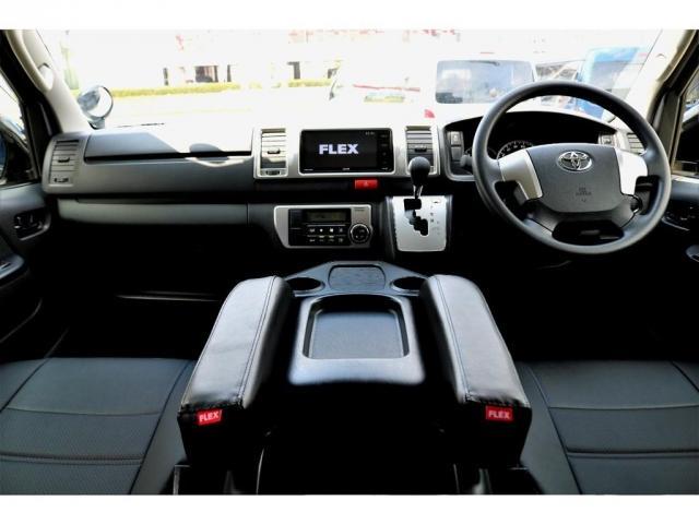 2.8 スーパーGL ロング ディーゼルターボ ディーゼル 2WD 4型 ブラック 1.5インチローダウン フロントスポイラー ウィンカーミラー 17インチアルミ ナスカータイヤ LEDテール シートカバー ベッドキット SDナビ ETC Bカメラ(2枚目)