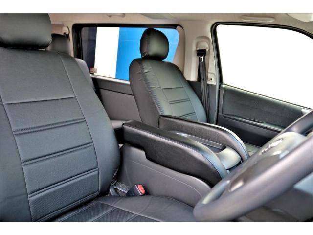 2.8 スーパーGL ロング ディーゼルターボ ディーゼル 2WD 4型 ブラック 1.5インチローダウン フロントスポイラー ウィンカーミラー 17インチアルミ ナスカータイヤ LEDテール シートカバー ベッドキット SDナビ ETC Bカメラ(14枚目)