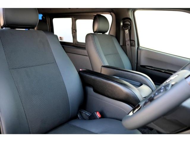 スーパーGL ダークプライムII ガゾリン 2WD 6型 ブラック フロントスポイラー オーバーフェンダー 17インチアルミ TOYO H20タイヤ LEDテール ベッドキット 8インチSDナビ ETC2.0 バックカメラ(15枚目)