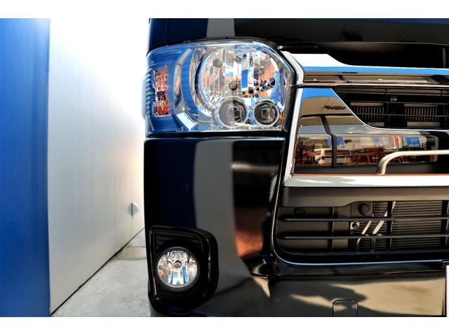 スーパーGL ダークプライムII ガゾリン 2WD 6型 ブラック フロントスポイラー オーバーフェンダー 17インチアルミ TOYO H20タイヤ LEDテール ベッドキット 8インチSDナビ ETC2.0 バックカメラ(21枚目)