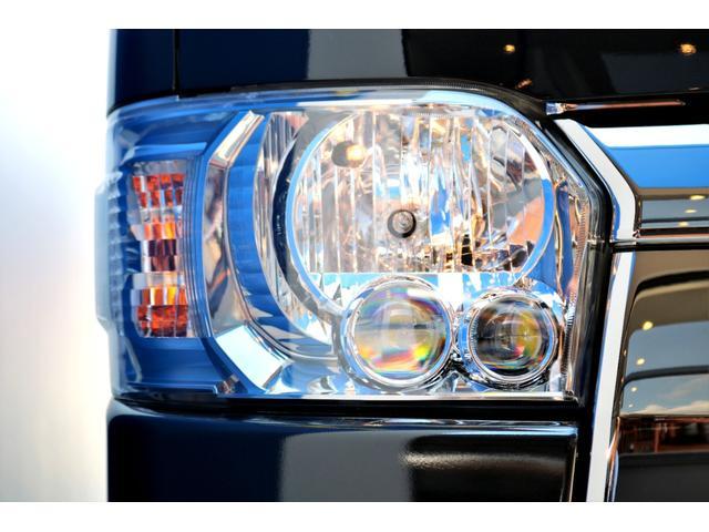 スーパーGL ダークプライムII ガゾリン 2WD 6型 ブラック フロントスポイラー オーバーフェンダー 17インチアルミ TOYO H20タイヤ LEDテール ベッドキット 8インチSDナビ ETC2.0 バックカメラ(23枚目)