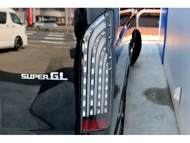 スーパーGL ダークプライムII ガゾリン 2WD 6型 ブラック フロントスポイラー オーバーフェンダー 17インチアルミ TOYO H20タイヤ LEDテール ベッドキット 8インチSDナビ ETC2.0 バックカメラ(32枚目)