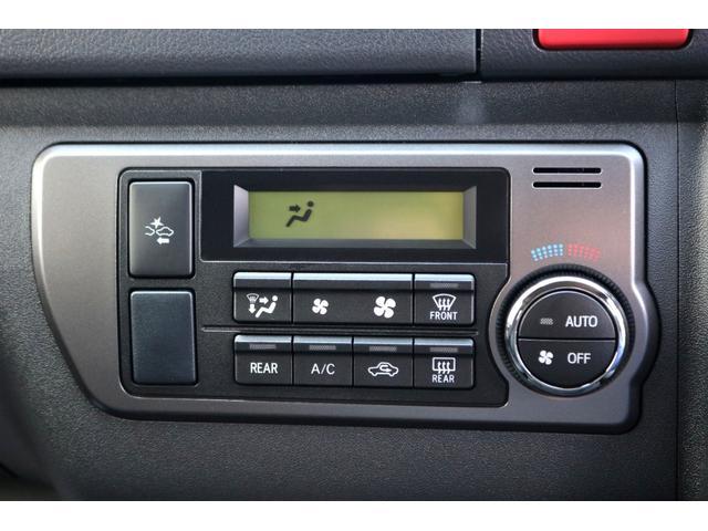 スーパーGL ダークプライムII ガゾリン 2WD 6型 ブラック フロントスポイラー オーバーフェンダー 17インチアルミ TOYO H20タイヤ LEDテール ベッドキット 8インチSDナビ ETC2.0 バックカメラ(33枚目)