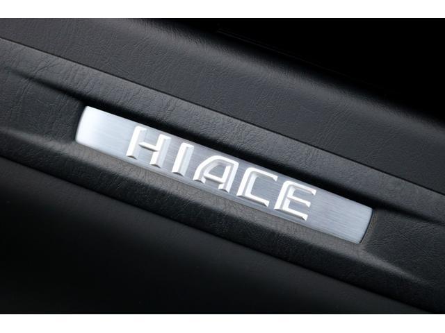 スーパーGL ダークプライムII ガゾリン 2WD 6型 ブラック フロントスポイラー オーバーフェンダー 17インチアルミ TOYO H20タイヤ LEDテール ベッドキット 8インチSDナビ ETC2.0 バックカメラ(41枚目)