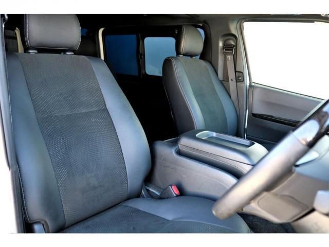 スーパーGL ダークプライムII ディーゼル 2WD 5型 パールホワイト フロントスポイラー 17インチアルミ ナスカータイヤ LEDテール フロア施工 SDナビ ETC バックカメラ LEDヘッドライト スマートキー(14枚目)