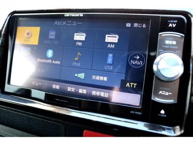 スーパーGL ダークプライムII ディーゼル 2WD 5型 パールホワイト フロントスポイラー 17インチアルミ ナスカータイヤ LEDテール フロア施工 SDナビ ETC バックカメラ LEDヘッドライト スマートキー(19枚目)