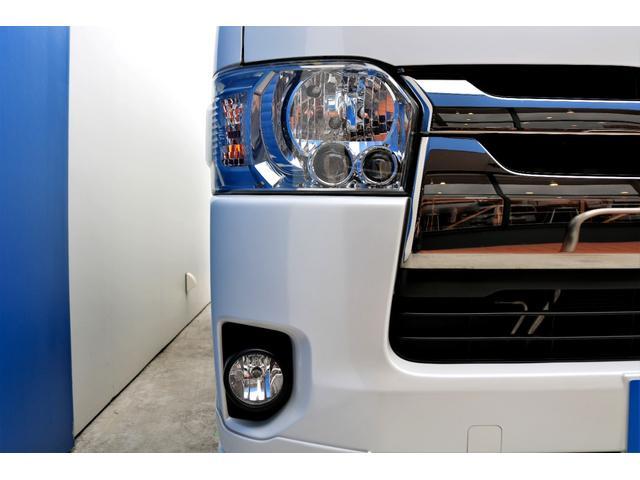 スーパーGL ダークプライムII ディーゼル 2WD 5型 パールホワイト フロントスポイラー 17インチアルミ ナスカータイヤ LEDテール フロア施工 SDナビ ETC バックカメラ LEDヘッドライト スマートキー(21枚目)