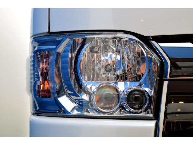 スーパーGL ダークプライムII ディーゼル 2WD 5型 パールホワイト フロントスポイラー 17インチアルミ ナスカータイヤ LEDテール フロア施工 SDナビ ETC バックカメラ LEDヘッドライト スマートキー(22枚目)