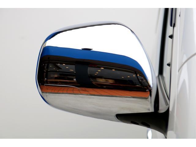 スーパーGL ダークプライムII ディーゼル 2WD 5型 パールホワイト フロントスポイラー 17インチアルミ ナスカータイヤ LEDテール フロア施工 SDナビ ETC バックカメラ LEDヘッドライト スマートキー(28枚目)