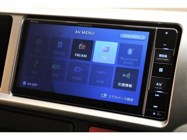 GL ガソリン 4WD 6型 パールホワイト フロントバンパーガード オーバーフェンダー 16インチアルミ オールテレーンタイヤ ベッドキット テーブルキット フロア施工 シートカバー SDナビ ETC(13枚目)