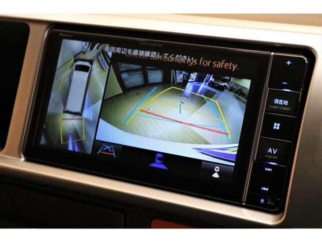 GL ガソリン 4WD 6型 パールホワイト フロントバンパーガード オーバーフェンダー 16インチアルミ オールテレーンタイヤ ベッドキット テーブルキット フロア施工 シートカバー SDナビ ETC(14枚目)