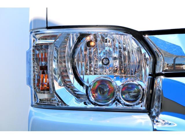 GL ガソリン 4WD 6型 パールホワイト フロントバンパーガード オーバーフェンダー 16インチアルミ オールテレーンタイヤ ベッドキット テーブルキット フロア施工 シートカバー SDナビ ETC(22枚目)