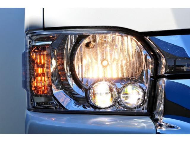 GL ガソリン 4WD 6型 パールホワイト フロントバンパーガード オーバーフェンダー 16インチアルミ オールテレーンタイヤ ベッドキット テーブルキット フロア施工 シートカバー SDナビ ETC(25枚目)