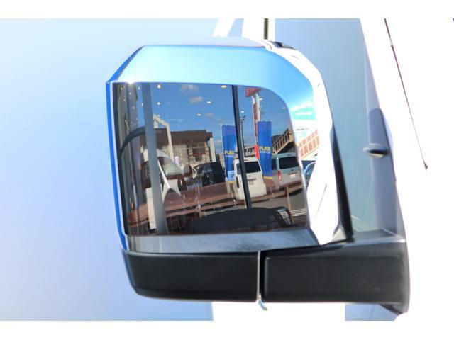 GL ガソリン 4WD 6型 パールホワイト フロントバンパーガード オーバーフェンダー 16インチアルミ オールテレーンタイヤ ベッドキット テーブルキット フロア施工 シートカバー SDナビ ETC(26枚目)